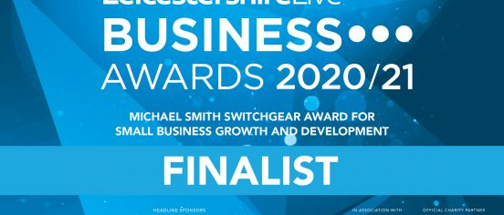 Leicestershire Business awards 2020/21 badge