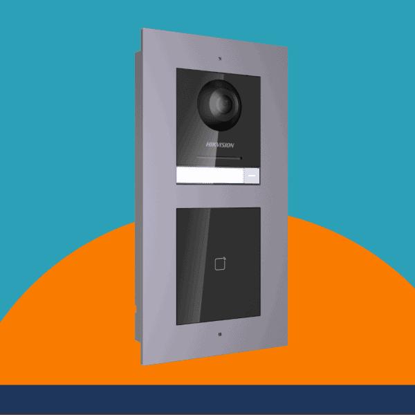 Video Intercom With Prox Reader stock photo